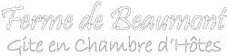 Ferme de Beaumont - Normandie logo